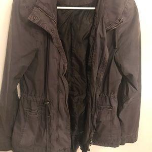 Grey army coat